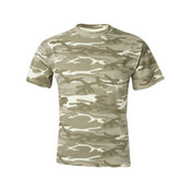 939 - Anvil Midweight Camouflage T-Shirt