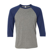 3200 - Bella + Canvas Unisex 3/4 Sleeve Baseball T-Shirt