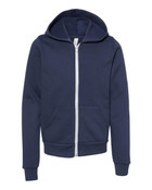 3739Y - Bella + Canvas Youth Sponge Fleece Zip-Up Hoodie
