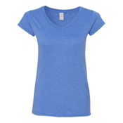 64V00L - Gildan Softstyle Women's V-Neck T-Shirt