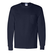 2410 - Gildan Ultra Long Sleeve Pocket T-Shirt