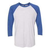 6051 - Next Level Triblend 3/4 Sleeve Baseball Raglan T-Shirt