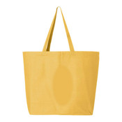 Q-Tees 24.5L Jumbo Canvas Tote